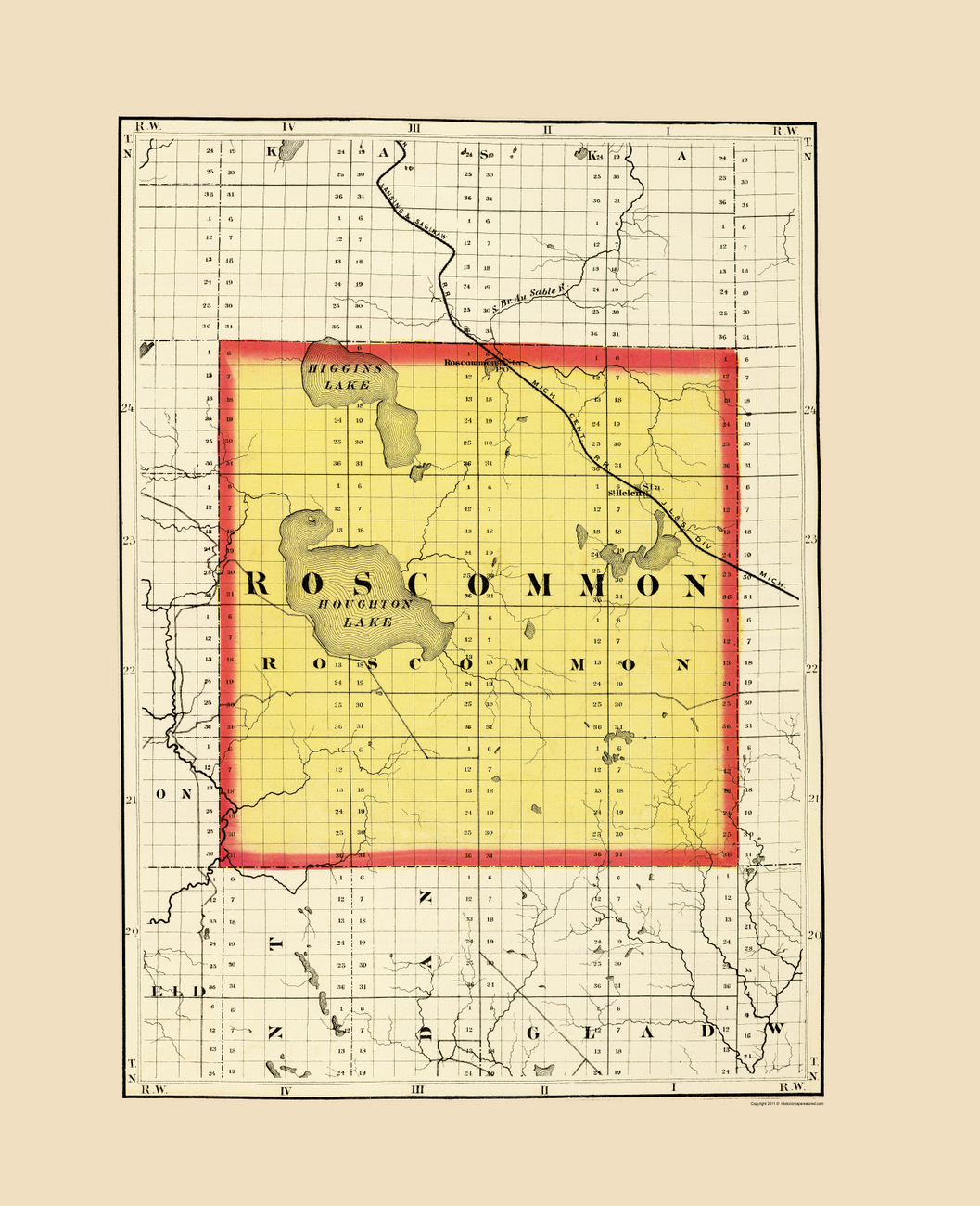 Old County Maps