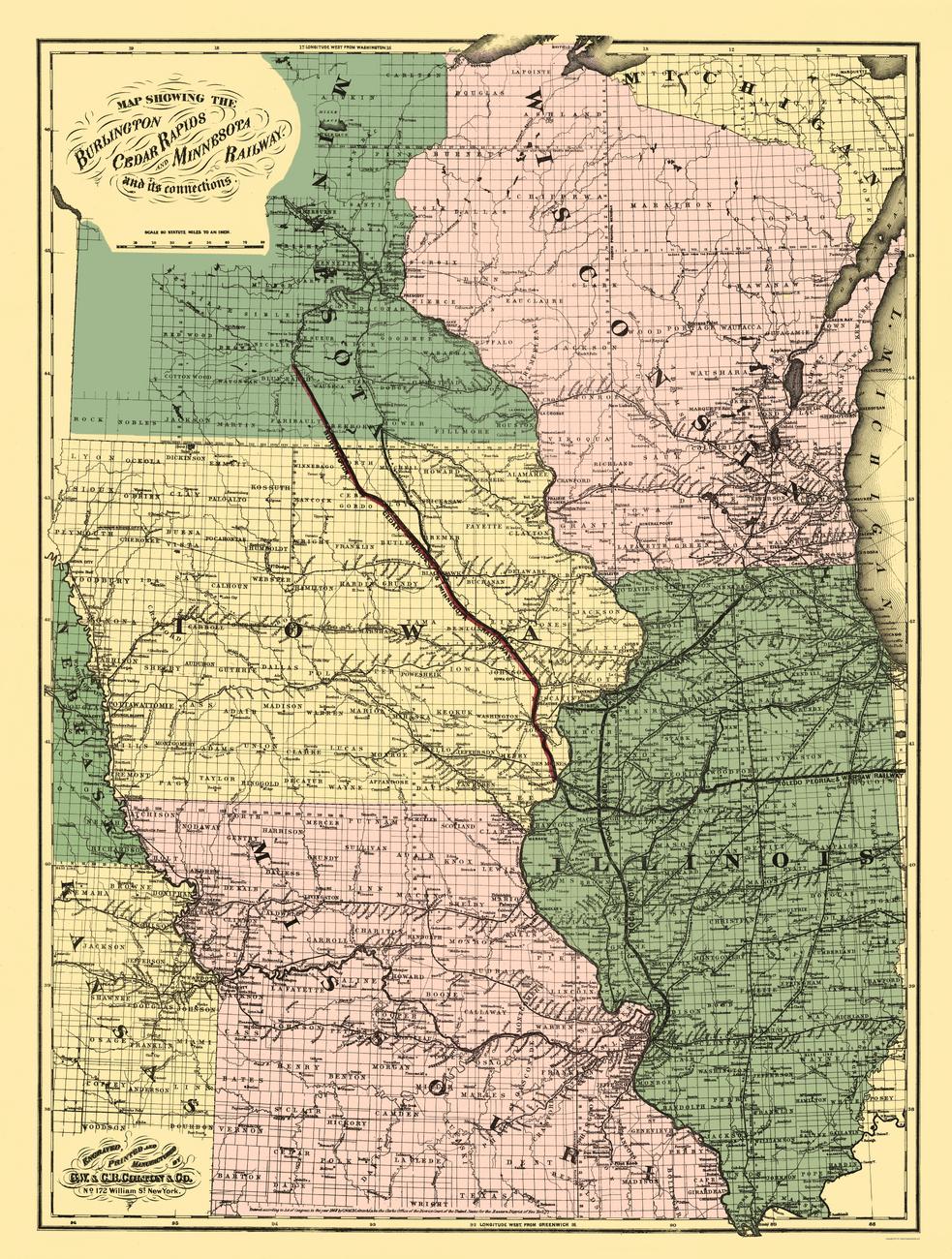 Minnesota Railroad Map Related Keywords Amp Suggestions