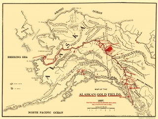 Old Mining Map Prints  Maps of the Past on