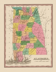 Alabama Finley 1824 23 X 29 64