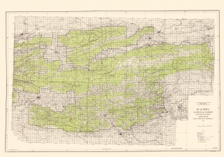 Old Arkansas Topographic Map Prints | Maps of the Past