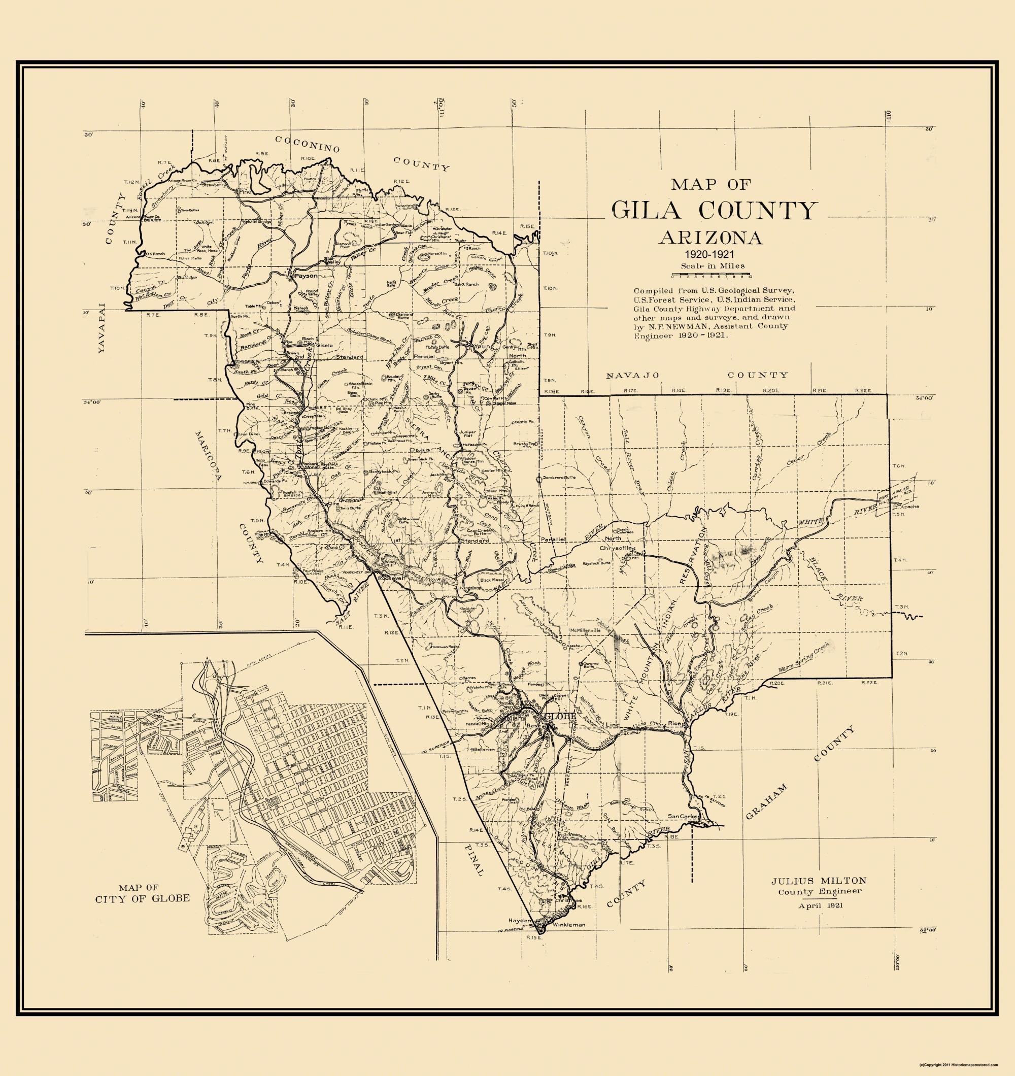 Arizona gila county young - Hover To Zoom