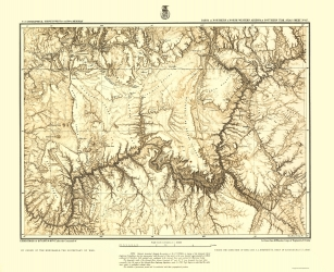 Old Utah Topographic Map Prints Maps Of The Past - Arizona topographic map