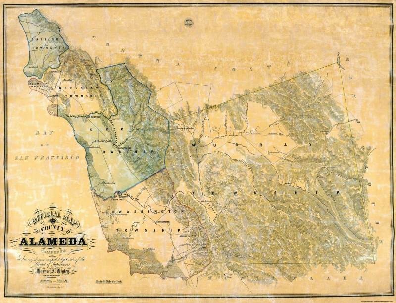 Old County Map - Alameda California - 1857 - 30 x 23 on cities in alameda county california, map of alameda island ca, map of unincorporated alameda county, map of phoenix arizona, map of port orchard washington, map of mcminnville oregon, bad neighborhoods in oakland california, map of sheffield uk, map of auburn washington, map of ormond beach florida, map of venice florida, map of westerville ohio, alameda island california, map of beaverton oregon, map of gresham oregon, map of orlando florida, map of bend oregon, map of king of prussia pennsylvania, map of moab utah, map of tucson arizona,
