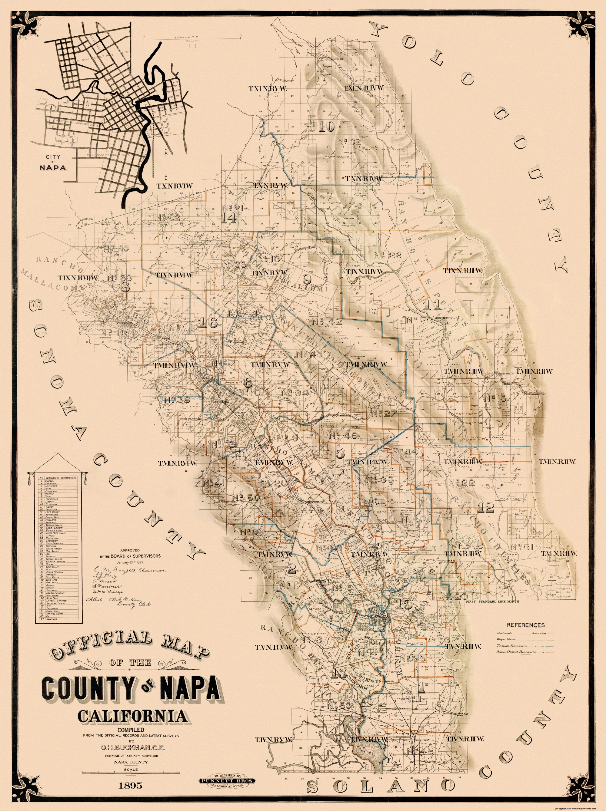 Old County Map - Napa California Landowner - 1895 - 23 x 30.81 on placer county, sequoia california map, lake tahoe california map, mendocino county, hollywood california map, texas map, sonoma california map, san diego california map, lake county, st. helena, alameda county, yosemite california map, monterey california map, solano county, northern california map, santa cruz, california appellation map, santa barbara county, wineries in napa map, yountville california map, san francisco, california map, sonoma county, santa rita hills california map, mount lassen california map, california california map, san francisco bay area, lake berryessa, orange county, sacramento county, contra costa county, alcatraz island california map, ventura county, marin county, san mateo county, monterey county, downtown napa california map, northern california, california wine country map, st. helena california map,