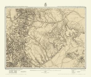 Colorado South New Mexico North Us Army 1876 23 X 27 07