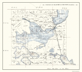 Old Florida County Map Prints Maps Of The Past - County maps florida