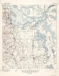 Old Florida Topographic Map Prints   Maps of the Past