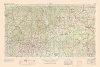 Old Florida Topographic Map Prints | Maps of the Past