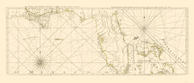 Old Travel Map - West Florida Coast, Channel of Bahama - Jeffreys 1776 on north florida map, red and blue florida map, southern florida map, west florida map with cities, rotonda west florida map, fort mose florida map, florida road map, richmond florida map, sebring raceway track map, west central florida map, southwest florida map, orlando florida map, bradenton florida area map, venice beach map, dunedin florida map, west america map, alaska florida map, florida panhandle map, st. petersburg beach florida map, emerald coast map,