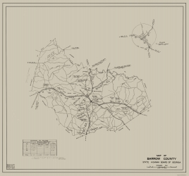 Old Georgia County Map Prints Maps Of The Past - County maps of georgia
