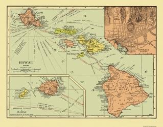 Baker 1794-23 x 31.01 Hawaiian Islands
