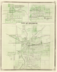 Old Indiana City Maps Maps Of The Past