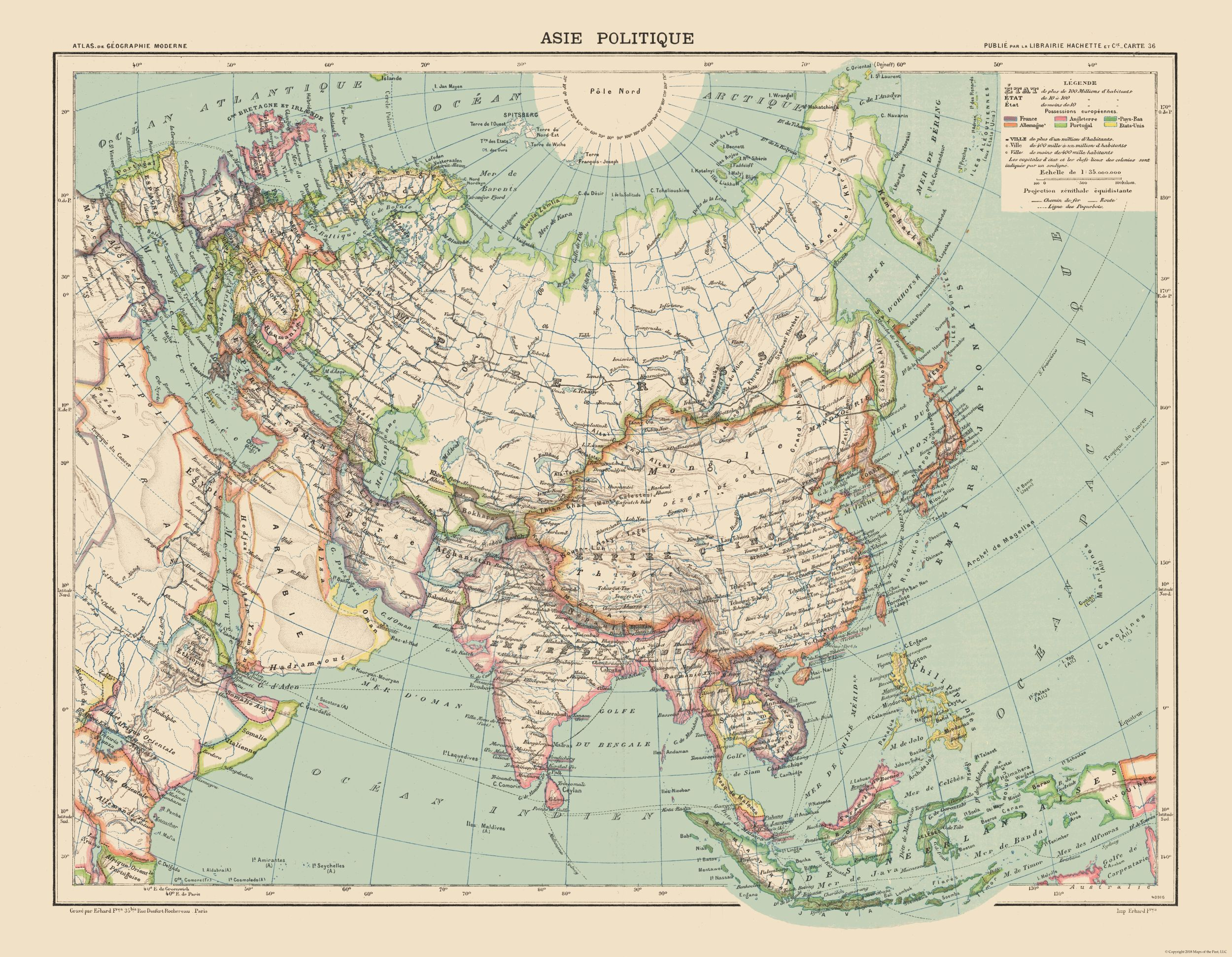 International Map - Political Map of Asia - Schrader 1908 - 29.62 x on large map of asia, google map of asia, political features of asia, pdf map of asia, physiographic map of asia, spanish map of asia, zoom map of asia, interactive map of asia,
