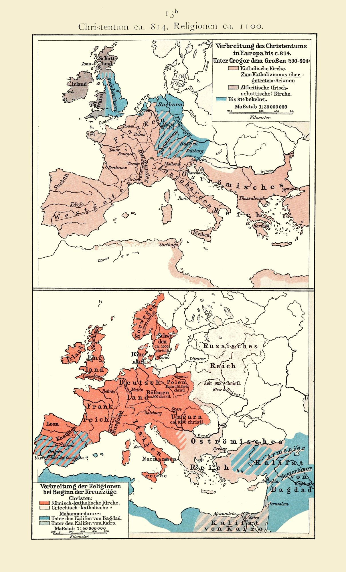 Map Of Europe 1100 Ad.Old International Maps Christianity 814 Bc 1100 Ad Europe
