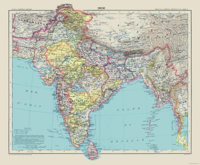 International Map - India - Schrader 1908 - 27.92 x 23 on map hong kong, map india world, map india indus river, map india pakistan, map cambodia, map singapore, map india china, map india maldives, map india afghanistan, map india syria, map india himalayas, map india united states, map brazil, map malaysia, map australia, map india thailand, map india to japan, map india tibet, map india mauritius, map india bangladesh,