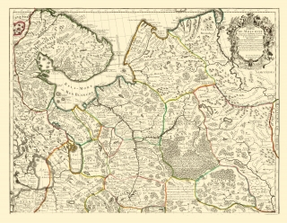 Old Russia Map Prints Maps Of The Past