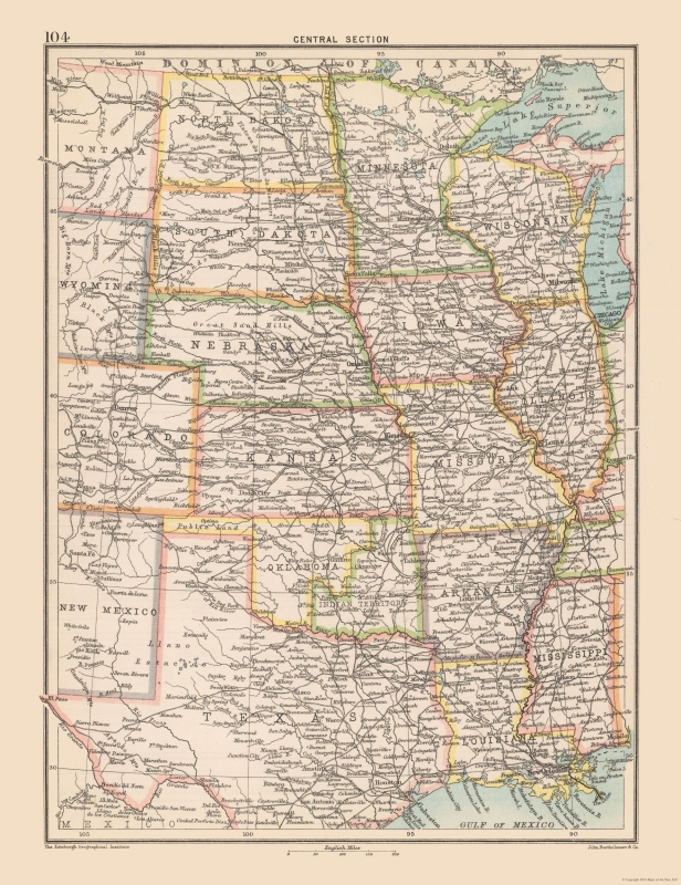 United States Map - Central United States - Bartholomew 1892 - 23 x on west north central states, map of kansas, east coast of the united states, map of philippines, south central united states, map of united kingdom, map of central america, map of illinois, northwestern united states, map of europe, map of mid united states, map of west central united states, west south central states, map of chicago, map of uk, map of western, pacific states, eastern united states, map of colorado, map of eastern, map of far west, map of north central united states, southeastern united states, map of singapore, map of south, map of texas, map of se, united states of america, map of history,