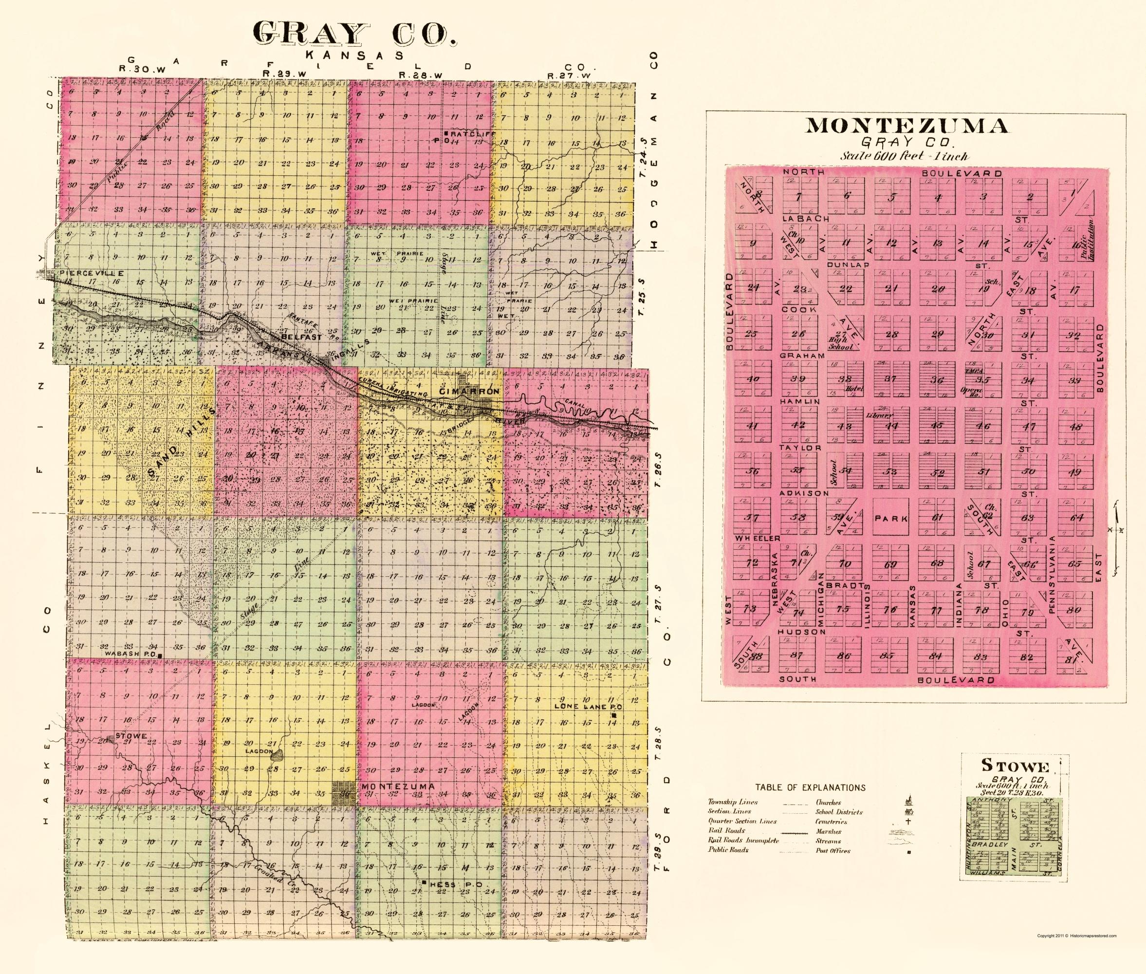 Kansas gray county copeland - Hover To Zoom