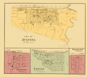 Old Kentucky City Maps Maps Of The Past - Kentucky cities map