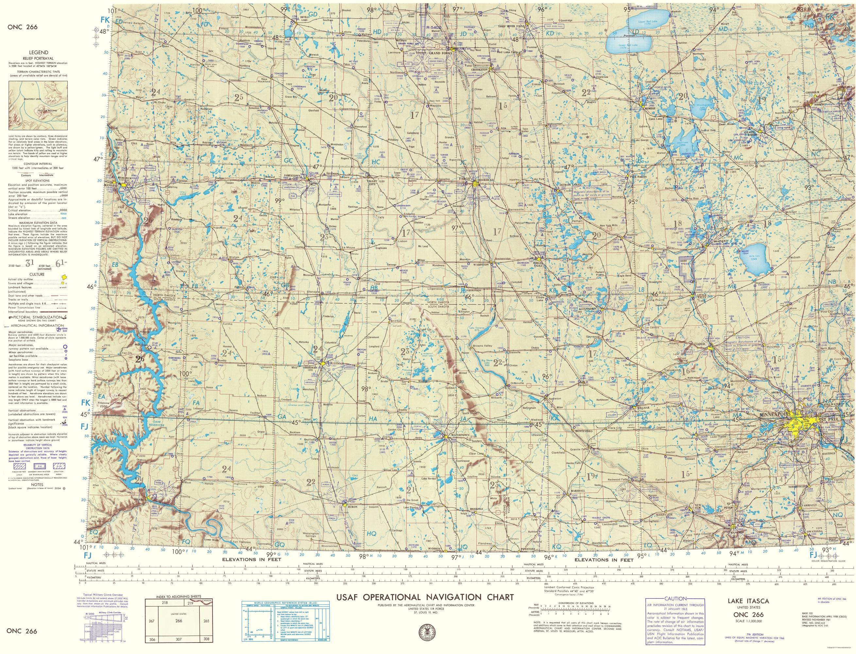 Topographical Map Lake Itasca North Dakota - Map of us 61