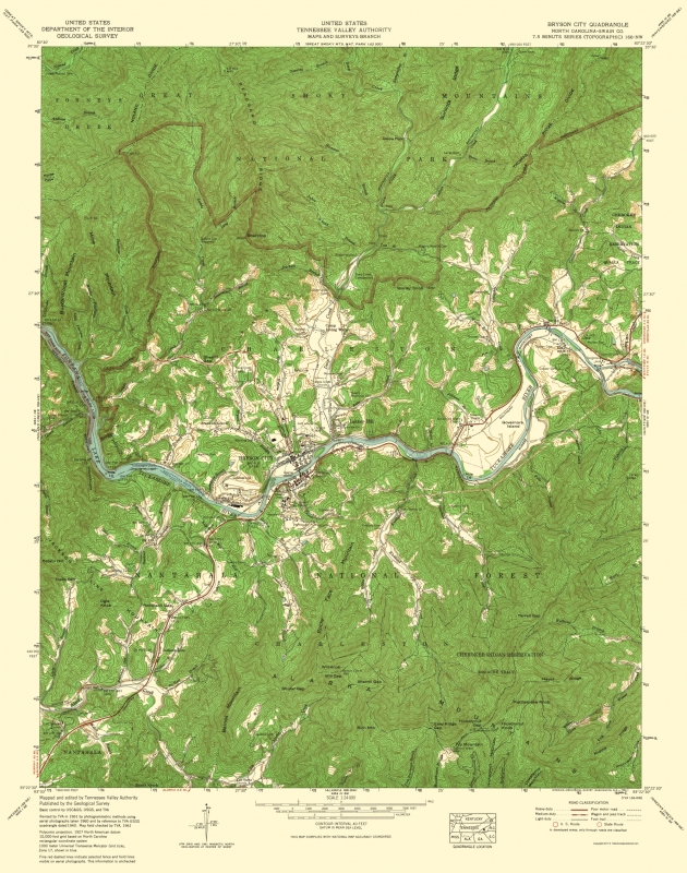 Topographical Map - Bryson City North Carolina Quad - USGS 1935 - 23 on map of georgia cities, nc state map with cities, atlas of north carolina cities, map of central mexico cities, map of south carolina and georgia, map of s carolina cities, map of columbia south carolina, new jersey, map of cities in metro atlanta, map of louisville cities, new york, north carolina coastal cities, west virginia, map of arizona cities, map of illinois cities, united states of america, map of massachusetts towns and cities, north carolina counties and cities, south carolina, wisc map of cities, map of ohio cities, map of michigan cities, map of cities of ok, map of east coast cities, map of north dakota,