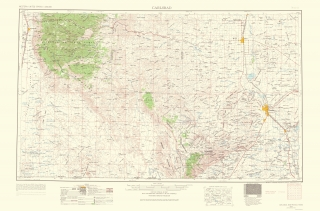 Old New Mexico Topographic Map Prints | Maps of the Past