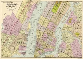 Old New Jersey City Maps Maps Of The Past - Jersey city map