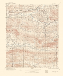 Old Oklahoma Topographic Map Prints | Maps of the Past