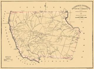 Horry South Carolina Landowner Mills 1825-30 x 23