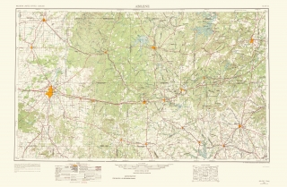 Historic US Geological Survey Map Prints Maps Of The Past - Topographical us map