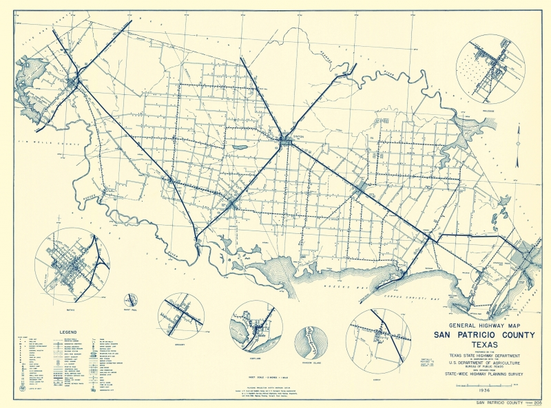 Old County Map - San Patricio Texas Highway - Highway Dept 1936 - 23 on map of galveston texas, map of austin texas, map of fulton texas, map of laredo texas, map of united states texas, map of port aransas texas, map of mustang island texas, map of port arthur texas, map of nueces river texas, map of lamar texas, map of sinton texas, map of kingsville texas, map of corpus christi texas, map of copano bay texas, map of south texas, map of texas texas, map of se texas, map of laguna madre texas,