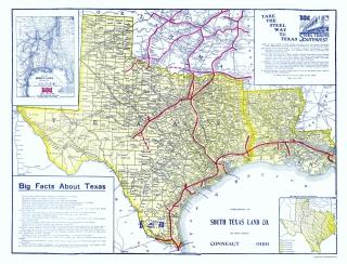 Old Louisiana Railroad Maps