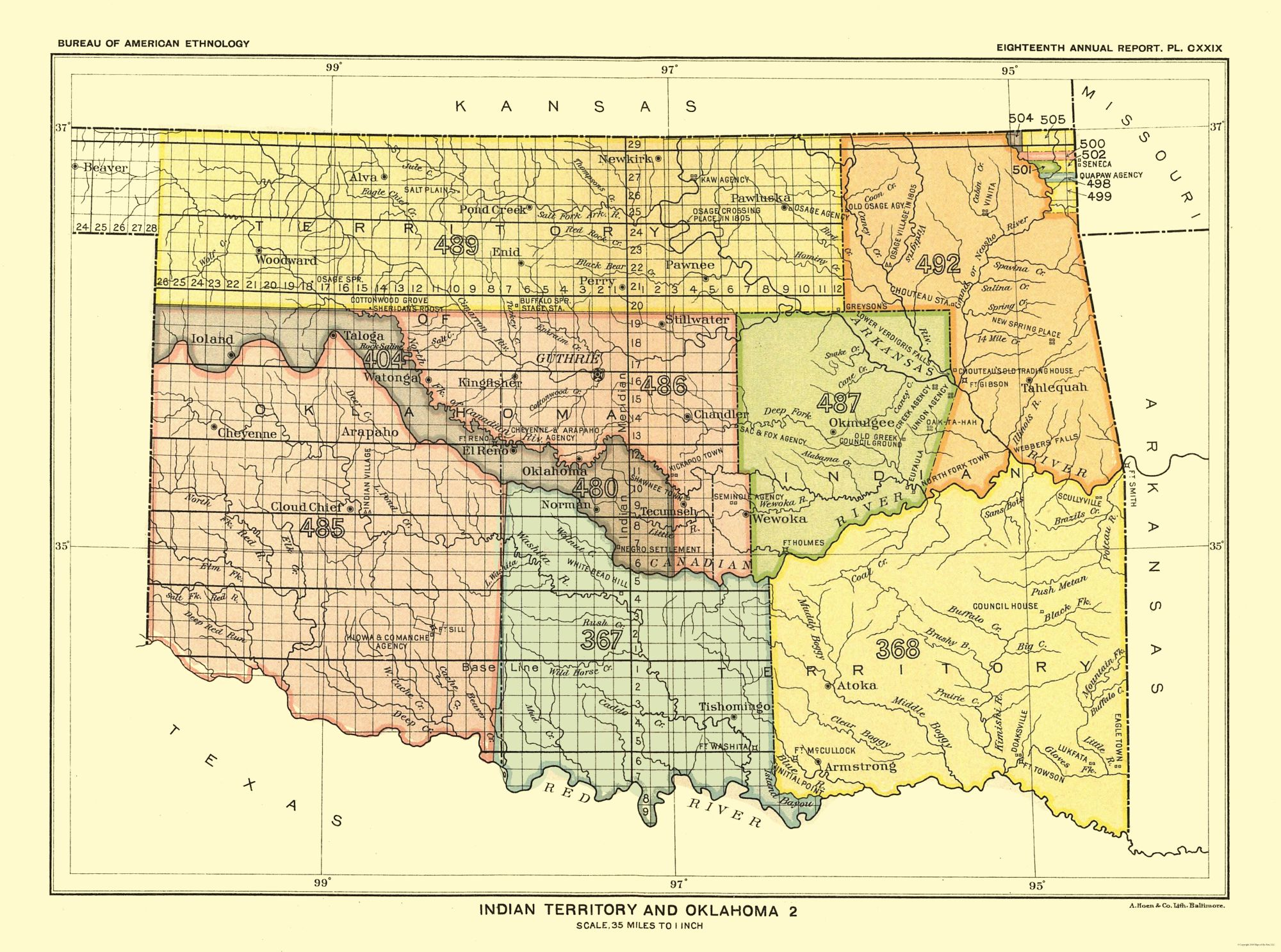 Old State Map - Indian Territory and Oklahoma - Hoen 1896 - 30.95 x on pull down map, zoomed in houston tx map, interactive world globe map, create a route map, ebola outbreak 2014 map, ancient world map, abu dhabi on world map, nasa digital world map, close up map, full screen usa map, pull up map, social media map, zanzibar world map, interactive us road map, large flat world map, search map, zermatt switzerland map, view map, silverlight virtual earth map, isis in map,