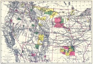 Old Indian Territory State Maps Maps of the Past