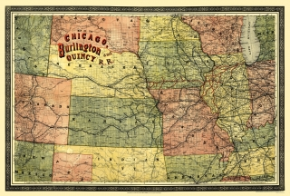 Old Kansas Map.Old Kansas Railroad Maps Maps Of The Past