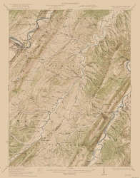 Topographic Map West Virginia.Old West Virginia Topographic Map Prints Maps Of The Past