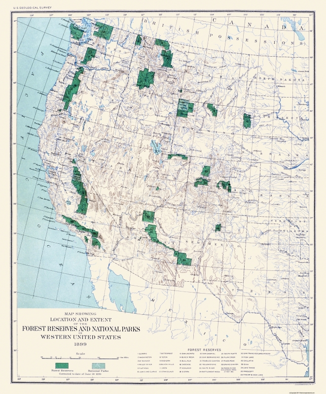 Old State Map - Western Forest Reserves, National Parks 1899 - 23 x on united states environmental protection agency, map of united states yellowstone, map of united states ski resorts, united states department of homeland security, new mexico state map with national parks, map of united states coasts, united states of america national parks, united states department of justice, endangered species act, map print united states lesson, map of united states animals, national historic landmark, golden gate national recreation area, map of the united states without color, yellowstone national park, national register of historic places, map of western united states, national monument, map of united states education, united states department of the interior, united states park police, map of united states railroad, map of amusement parks in united states, map west united states parks, national wildlife refuge, united states coast guard, map of united states state capitals, map of united states zoos, uss arizona memorial, united states national forest, map of roads in united states, general services administration, map of united states big cities, national park ranger, map of united states with postal abbreviations, national park service act, united states forest service, map of united states state borders, map of glacier national park, united states fish and wildlife service,
